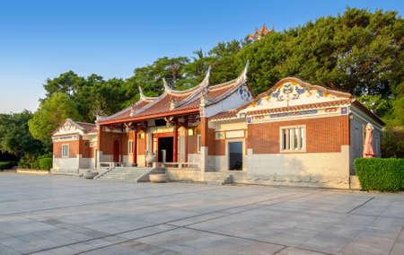 Temple building with southern characteristics, Xiamen, China. Foto de archivo