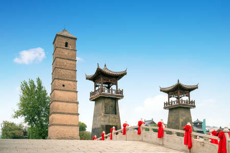Landscape of Luoyi Ancient City in Luoyang, China