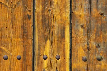 knotting: tavole di legno dipinte Archivio Fotografico