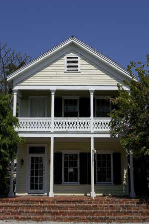 Front of house key west florida Stock Photo - 228009