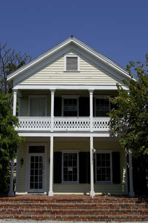 balustrades: Front of house key west florida
