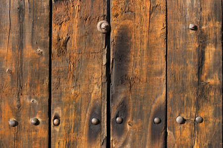 worn structure: Old weathered and worn wooden planks