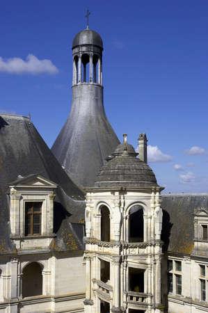 Chateau de chambord, loire valley, france photo