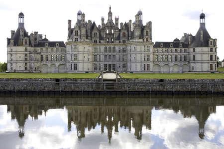 loire: Chateau de chambord, loire valley, france Stock Photo