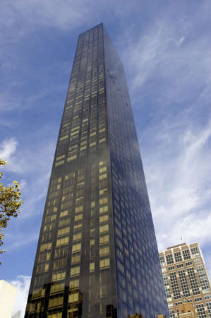 Trump world tower, luxury residential apartments, downtown manhattan, new york, new york state, america, usa
