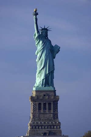 enlightening: Statue of liberty, new york, manhattan, America, usa Stock Photo