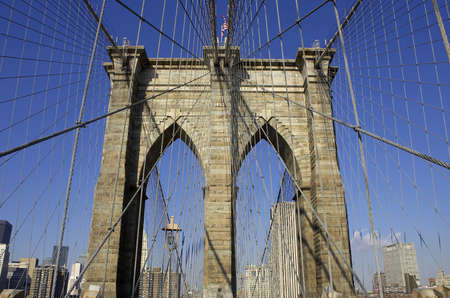 Brooklyn bridge, manhattan, new york, America, usa Stock Photo - 288064
