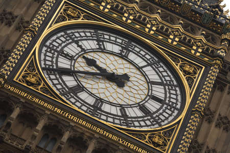 Close up of big ben clock face photo
