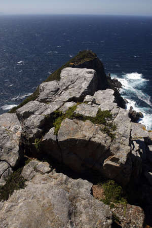 overlooking cape point from the lighthouse part of the table mountain national park cape town western cape province south africa Stock Photo - 2807942
