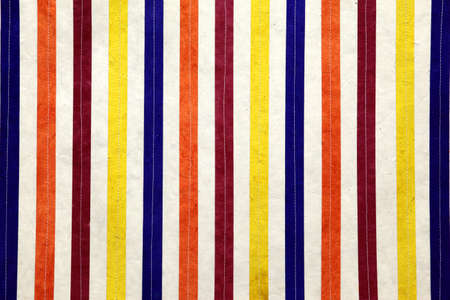 detail of colorful stripy lines Stock Photo