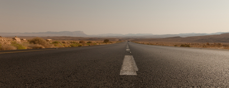 Road in the Negev