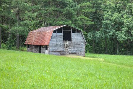 Nostalgic old barn