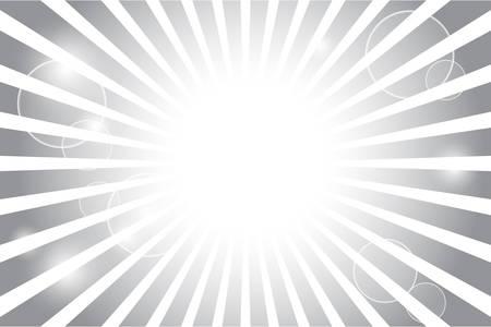 flare: Sunburst with sun flare background Illustration