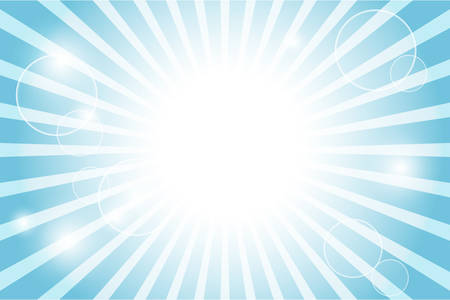 sun flare: Sunburst with sun flare background Illustration