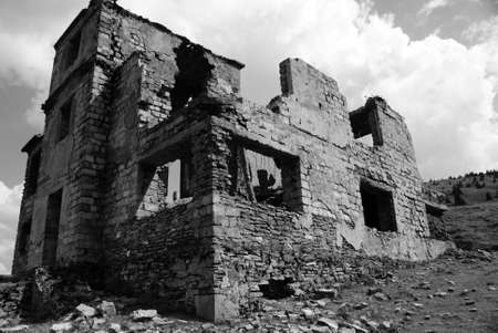 fortress,ruin Stock Photo