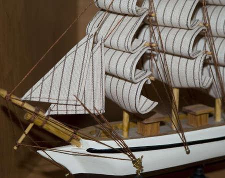 likable: souvenir,ship,sail