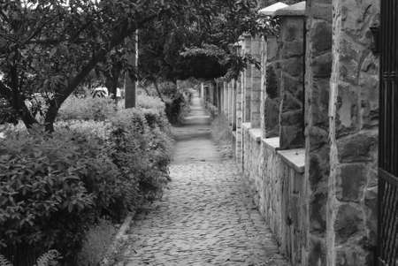 old streets of the city