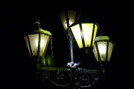 light evening night
