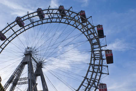 Vienna Prater Ferris Wheel photo