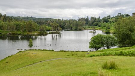 Tarn Hows is one of the most popular place in the Lake district and was once owned by Beatrix Potter who sold Tarn Hows to the National Trust.