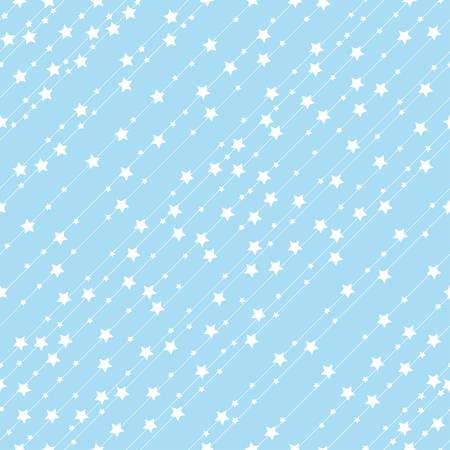 Seamless pattern stars. Vector background.