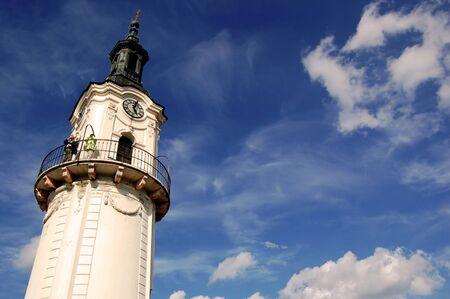 ungarn: Fire-tower in veszprem, Hungary