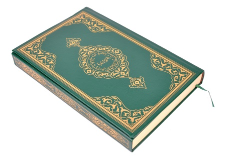 The Holy Book Of Quran Isolated On White