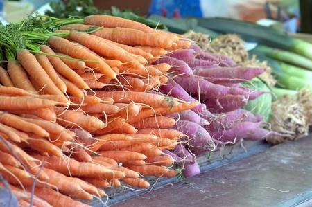 Fresh Vegetables At The Local Market photo