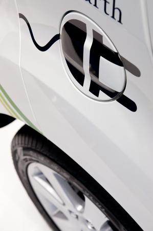 plugin: FRANKFURT - SEP 25:   Plug-in Hybrid Car presented at the 64th Internationale Automobil Ausstellung (IAA) on September 25, 2011 in Frankfurt, Germany.