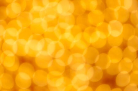 Gold christmas lights background photo