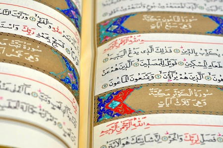 Pages of The Holy Book Of Quran photo
