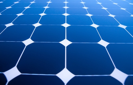 solar collector: Background of Blue Solar Panels