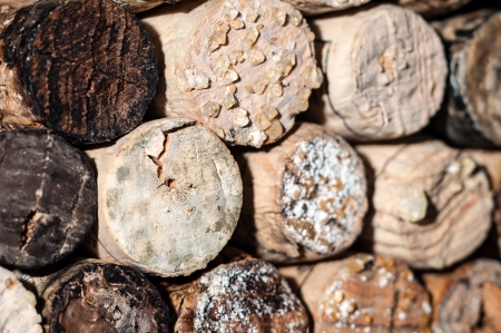 tartaric: Wine Acid Falls Out in Old Bottles and Turns Into Crystals on the Corks and in the Wine