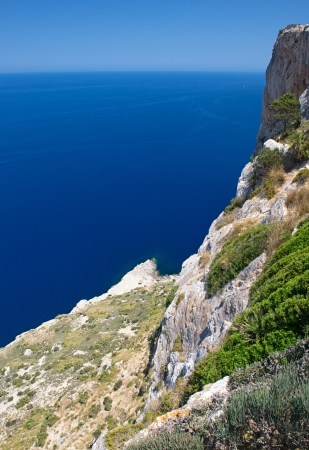 Cape Formentor in the Coast of North Mallorca, Spain   Balearic Islands Stock Photo - 21157600