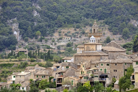 A View of Valldemossa in Mallorca, Spain ( Belearic Islands ) Stock Photo - 21824131