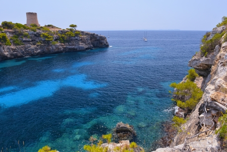 majorca: The Beautiful Beach of Cala Pi in Mallorca, Spain   Balearic Islands