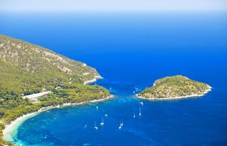 Cala Pi De La Posada in Mallorca, Spain   Balearic Islands   Stok Fotoğraf