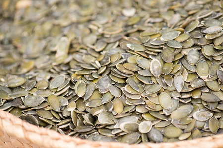 Pumpkin Seeds On The Spanish Market photo