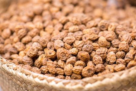 earth nut: Tigernuts ( Chufa ) On The Spanish Market