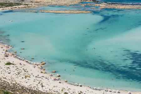 The Beautiful Balos Lagoon In Crete, Greece photo