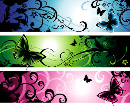 Fantasy banners Stock Vector - 6263567