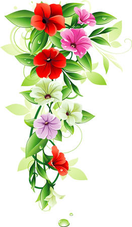 vertical garden: Floral design