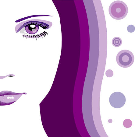 Abstract face Vector