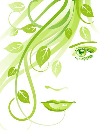 sal�n: Abstracta de la cara