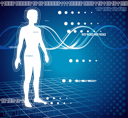 Computer diagnostic Vettoriali