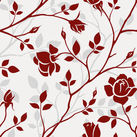 rose bush: Floral wallpaper