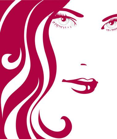 Ragazza con i capelli rossi