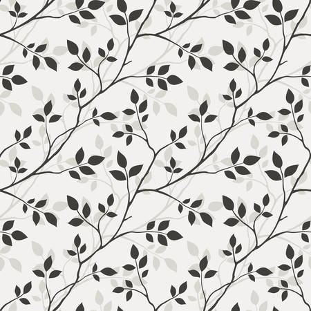 Wallpaper with leaves 版權商用圖片 - 8789583