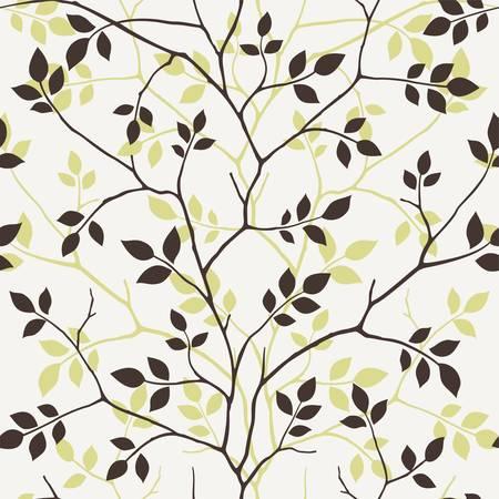 葉の壁紙します。  イラスト・ベクター素材