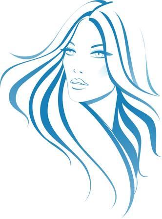 Fashion woman 向量圖像
